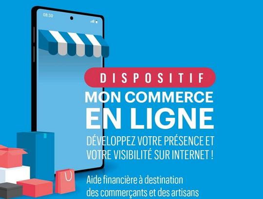 Jusqu'à 1.500€ d'aide aux commerçants pour leur communication digitale !